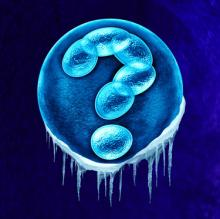 Frozen Cell Embryo with ?