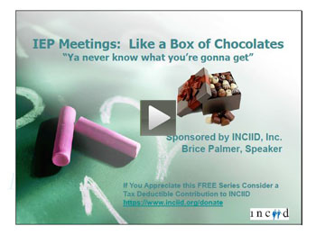 Webinar - IEPs educational jargon
