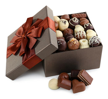 Life is like a box of chocolates; you never know what you're gonna get.