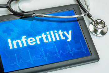 Tablet and Stethoscope Infertility
