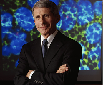 Photo of Anthony S. Fauci, M.D., Director, National Institute of Allergy and Infectious Diseases (NIAID) by National Institutes of Health (NIH) is licensed under CC BY-NC 2.0